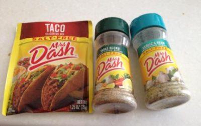 Mrs Dash seasonings